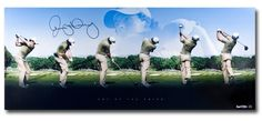 #SportsMemorabilia.com - #SportsMemorabilia.com Rory McIlroy Signed Autographed 36X15 Photo Art of the Swing Limited #/250 UDA - AdoreWe.com