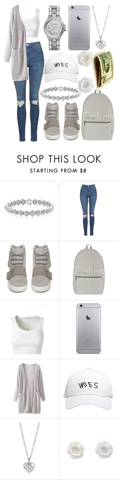 """School"" by aaliyahsalmon ❤ liked on Polyvore featuring Topshop, adidas, Calvin Klein, Alaïa, October's Very Own, Finn and MICHAEL Michael Kors"