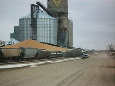 grain bin collapsed. | Flickr - Photo Sharing!