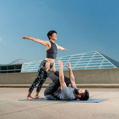 Acro yoga tips for beginners. Via yoga journal