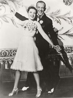 """Judy Garland with Fred Astaire in """"Easter Parade"""" (1948)"""