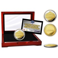 UConn Huskies 2014 NCAA Men's Basketball National Champions Two-Tone Mint Coin - $74.99