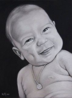 Caden. Portrait by kristy franco. Chalk pastel. Art.