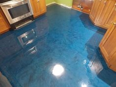Like the movement. Possibly integrate a little of this blue (or darker) in the bathrooms with the grey/silver/black.