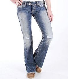 Silver Aiko Boot Stretch Jean | Products I Love | Pinterest ...