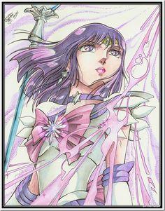 Sailor Moon al estilo Saint Seiya Araki Sailor Neptune, Sailor Saturn, Sailor Moon Art, Sailor Moon Crystal, Sailor Mars, Sailor Mercury, Sailor Scouts, Sailor Moon Personajes, Manga Anime