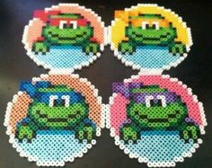 Amazing TMNT Teenage Mutant Ninja Turtles by SillyRabbitCrafts, $20.00