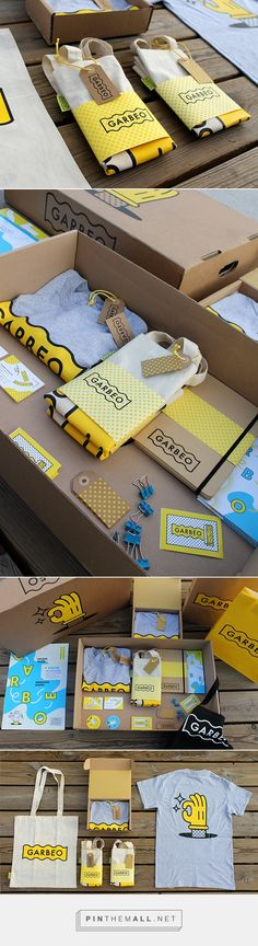 Garbeo. Promotional stuffs. via @bowlofhoney #branding #design (Join design…