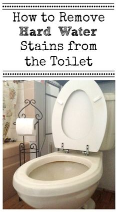 1000 ideas about toilet bowl stains on pinterest toilet - Bathroom cleaner for hard water stains ...