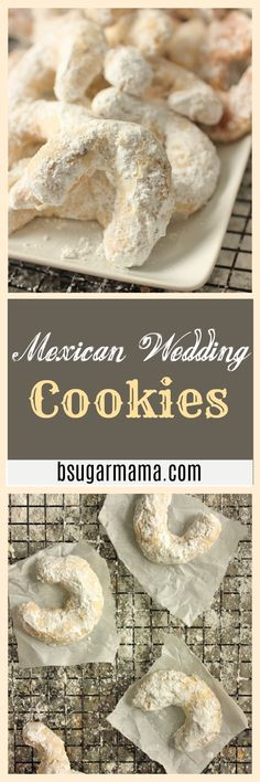This is an easy cookie recipe for Mexican Wedding Cookies! They are buttery, nutty, and perfect during the holiday season.