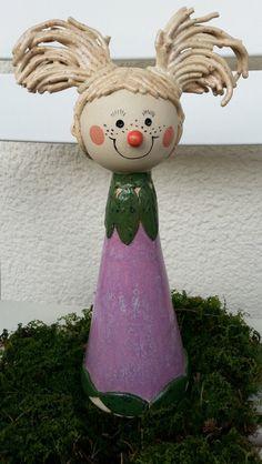"""Zaunhocker+/+Käferwohnung+""""+Paula""""+von+Hochwertiger+Gartenschmuck+aus+Keramik+auf+DaWanda.com"""