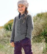 Cute, too bad my daughter hates sweaters :(