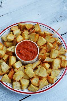 patatas bravas Salsa, Food, Meal, Salsa Music, Restaurant Salsa, Eten, Meals