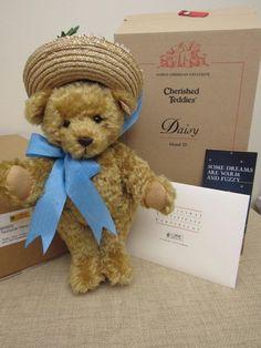 Vintage Retired Steiff DAISY Teddy Bear w/ Tags & COA 665905 ORIG BOX & SHIPPER | eBay