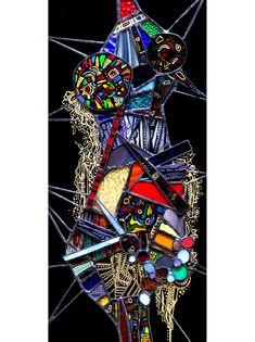 女体 パネルランプ #stainedglass #art #mie #stained #ステンドグラス