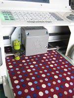 good tutorial on cutting fabric