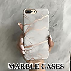Fall in love with our glamorous and protective marble phone cases! Beautiful marble cases for iPhone and Samsung cell phones. They are the perfect smartphone mobile device fashion accessory and gift idea for girls, women and teens. Shop CASES A LA MODE! Phone Cases Marble, Marble Case, Girly Phone Cases, Iphone Cases, Iphone 7, Gifts For Techies, Cell Phone Service, Phone Gadgets, Tech Gadgets