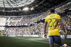 Lucas 22, Friendly game Brazil 1 X 0 Costa Rica . Hulk scored the Brazilian Gol at first half.    Photo: Wagner Az