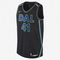Nike NBA Dallas Mavericks Dirk Nowitzki City Edition Swingman Jersey