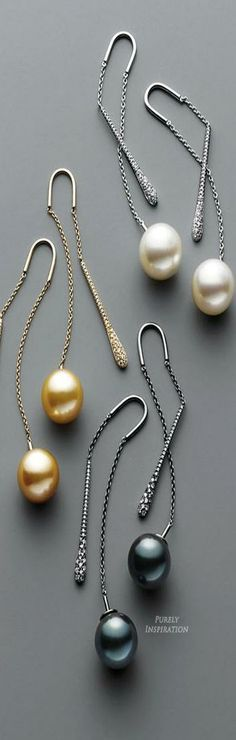 Yoko London Fine Jewelry Pendulum Earrings   Purely Inspiration