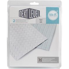 We R Memory Keeper-Next Level Embossing Folders: Bouquet. Create multi-dimensional designs for card making, scrapbook layouts, mixed media and other paper craft projects. This package contains two inch embossing folders in two designs. Folders, We R Memory Keepers, American Crafts, Arts And Crafts Supplies, Embossing Folder, Sewing Stores, Making Ideas, Scrapbooking Layouts, Cardmaking