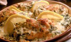 Italian Spinach Chicken Bake