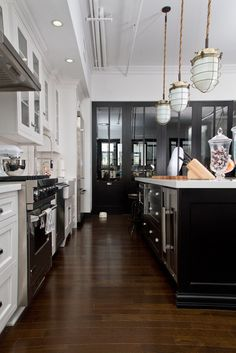 Beautiful Black And White Kitchens black and white: 45+ sensational kitchens to inspire | kitchens
