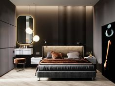 Casual Or Elegant Bedroom Design (What To Choose?) - Interior Decor and Designing Elegant Bedroom Design, Bedroom Bed Design, Elegant Home Decor, Home Decor Bedroom, Bedroom Furniture, Bedroom Designs, Loft Interior, Modern Interior Design, Luxury Furniture