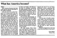 So it's an editorial, not a saying...I still agree with it!