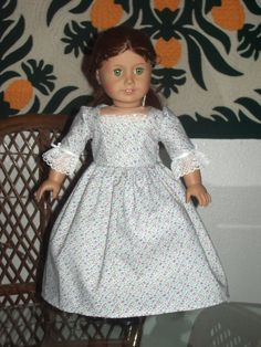 Colonial Gown for American Girl Felicity by alohagirldollclothes, $16.00