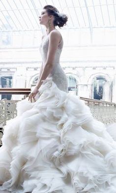 Lazaro 3253 wedding dress currently for sale at 52% off retail.