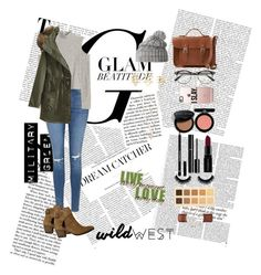 """""""Untitled #10"""" by cata13mota on Polyvore featuring Victoria Beckham, Topshop, The Cambridge Satchel Company, Free People, Helly Hansen, Casetify, Charlotte Russe, Forever 21, Armani Beauty and Smashbox"""