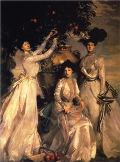 The Acheson Sisters - John Singer Sargent, 1902