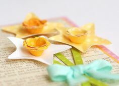 Beautiful Paper Flower Tutorials by Lisa Storms