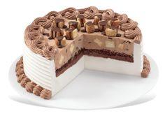 CHOCO COVERED CHEESECAKE BLIZZARD® CAKE