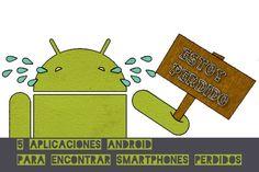Con estas aplicaciones Android puedes encontrar tu teléfono perdido o robado, borrar datos a distancia o hacer sonar una alarma a todo volumen