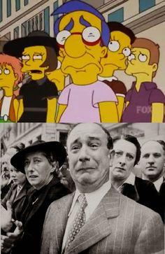 12 Paródias de fotos famosas feitas nos episódios de Os Simpsons