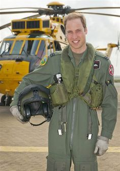 PRINCE CHARMING Britain's Prince William has qualified as an operational search and rescue captain