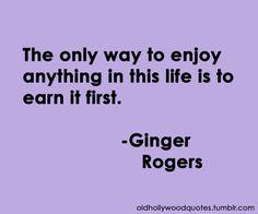 Ginger Rogers, July 16, 1911 - April 25, 1995