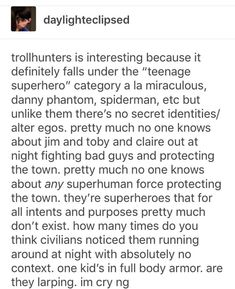 """Yes!!! The last sentence tho!! I totally freaked when Claire said that they were """"larping"""" when Barbara found them out XD I immediately thought of Season 2 episode """"Mazes and mutants"""" TMNT 2012, who else?!"""