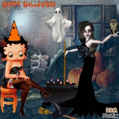 Betty Boop Halloween Pictures, Photos, and Images for Facebook, Tumblr, Pinterest, and Twitter