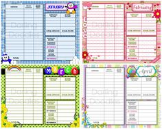Printables Salon Budget Worksheet budget forms printable and free on pinterest