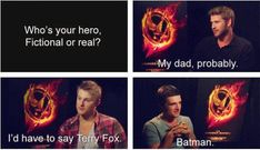 Further cementing my slightly cradle-robbing crush on Josh Hutcherson: this is hilariously awesome.