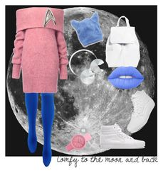 """""""in this outfit I will conquer the Moon"""" by petra-klimova ❤ liked on Polyvore featuring Vans, Mansur Gavriel, Lime Crime, Aerie, Crayo and Frends"""