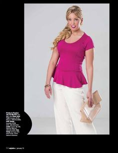 RGA's Shannon Pleva poses for the January 2013 issue of StyleLine Mag.