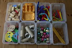 Mini Discovery Boxes for Open-Ended Play