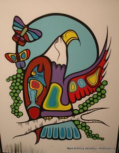 Unframed limited edition Original Silk Screen Prints by First Nations Artist Mark Anthony Jacobson. Canadian First Nations Art, Greenery Native Art Gallery Vancouver BC. Native American Paintings, Native American Art, Claudia Tremblay, Woodland Art, Haida Art, Spirited Art, Canadian Art, Indigenous Art, Silk Screen Printing