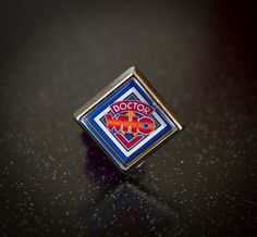 Cool Retro Dr Who Pin / Lapel Badge by UnofficiallyOriginal