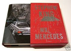 MR MERCEDES custom cover by Glenn Chadbourne for StephenKingCatalog.com
