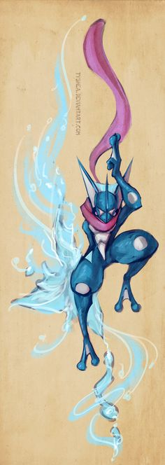 GRENINJA by Tyshea on deviantART